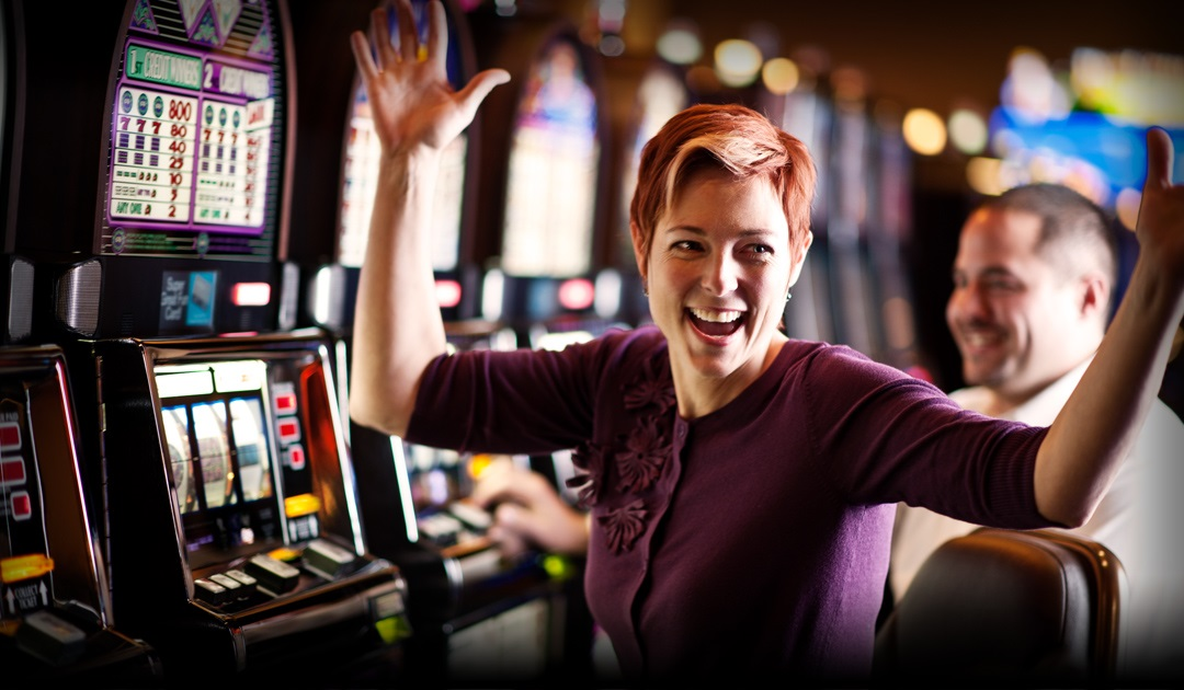 Guest winning at slots