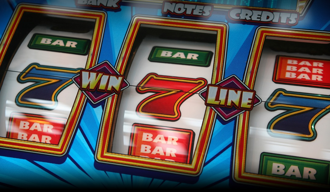 Three sevens on a classic reel slot