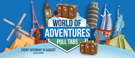 World of Adventures Pull Tabs