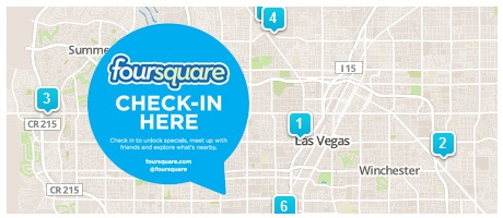 Foursquare check in reminder